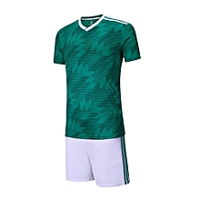2018 Customized World Cup Football Soccer Team Sports Training Jersey Set-Green