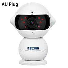 ESCAM Elf QF200 H.264 HD 960P WiFi IP Camera 1.3MP IR-cut Two-way Audio WHITE AU PLUG