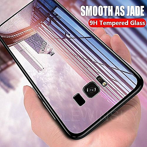 competitive price 0e8c1 9ae98 Tempered Glass Case For Samsung Galaxy S8 Plus Case Full Protection Glass  Back Cover For Samsung S8 Plus Housing