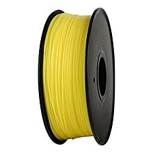 Anet DIY 340m 1.75mm PLA 3D Printing Filament YELLOW