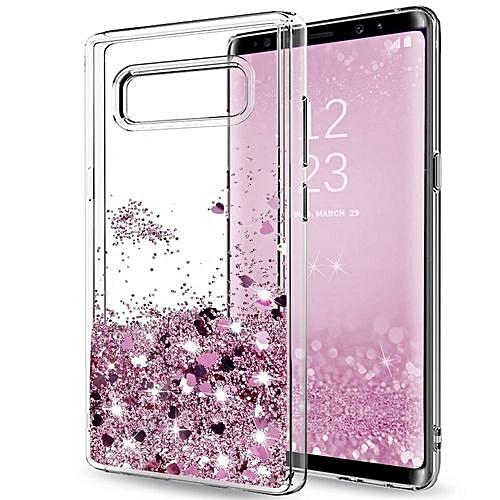 fbf57d029c93 Generic Clear Glitter Bling Liquid Case For Girl's/Women @ Best ...