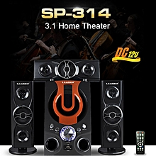 CH 3.1 Bluetooth Multimedia Speaker SP-314 Home theater Woofer