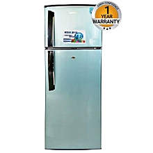 BRD225 - Double Door Refrigerator - 8.0 Cu.Ft - 210 Litres - Mettalic Blue.