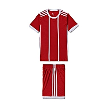 Customized World Cup Children Kids Boy And Girl's Football Soccer Team Sports Training Jersey-Red