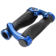 Anti-slip Rubber Aluminum Alloy Bicycle Handlebar Grips Human Mechanics Design Mountain Bike Handle Bar Parts