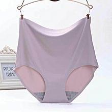 fancy seamless silk high waist panty