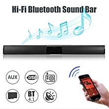 20W Wireless Bluetooth Soundbar Stereo Hi-Fi Home Theater Speaker Subwoofer Box