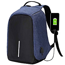 Laptop Bag - Anti Theft Backpack - Blue