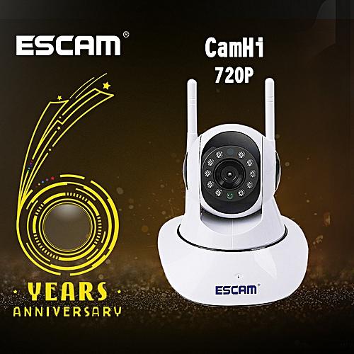 ESCAM G02 720P Dual Antenna Home Camera Pan/Tilt WiFi IP IR Camera Support  ONVIF Video Monitor IP camera