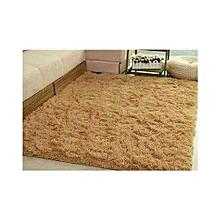 Fluffy Carpet -Beige comfortable carpet- 5x7