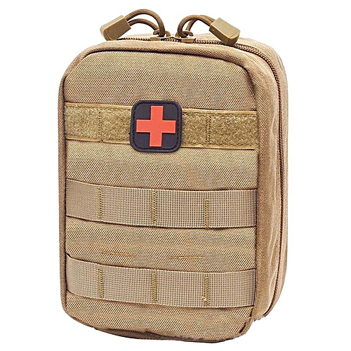 Outdoor Survival Tactical Medical First Aid Kit Molle Medical Cover  Emergency Military Package Hunting Utility Belt Bag(#KK)