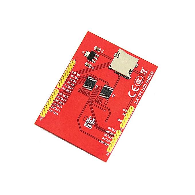 Arduino UNO 2 4 inch TFT display module Red