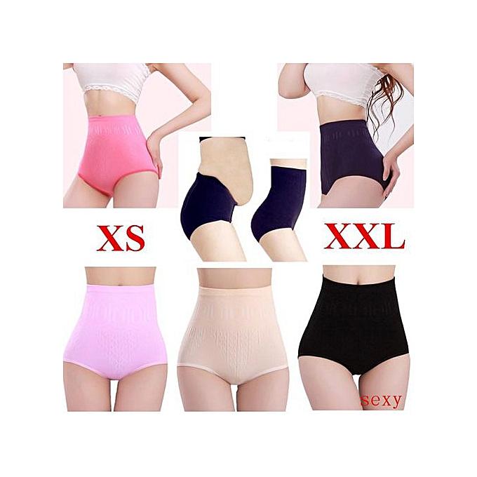 e1c8b301f Sexy Womens High Waist Tummy Control Body Shaper Briefs Slimming Pants