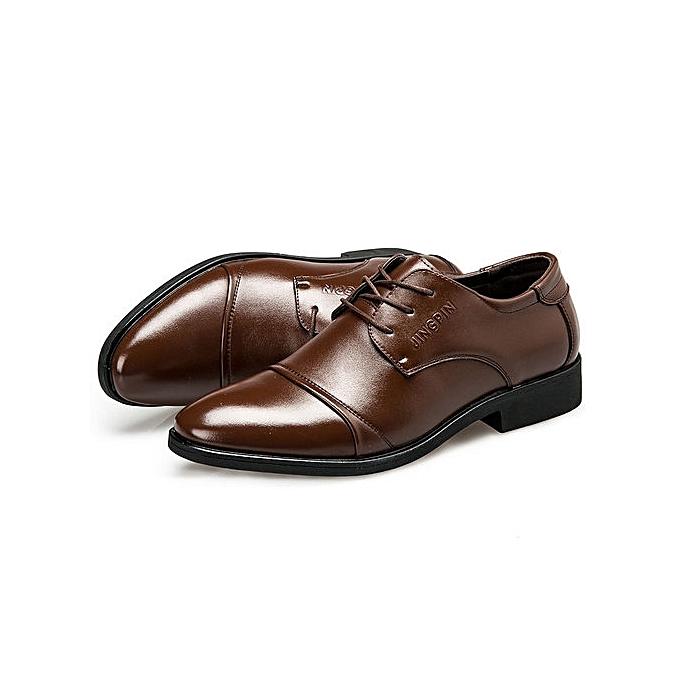 Fashion Mens Dress Shoes Casual New Men Shoes Leather Brand Men