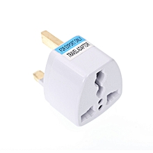 US/UK/EU/AU to UK Plug Socket Charger AC Travel Power Adapter Converter-WHITE