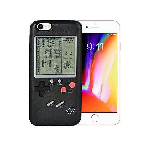Buy Generic Apple IPhone 8 47 Mobile Retro Brick Game Phone Case TPU