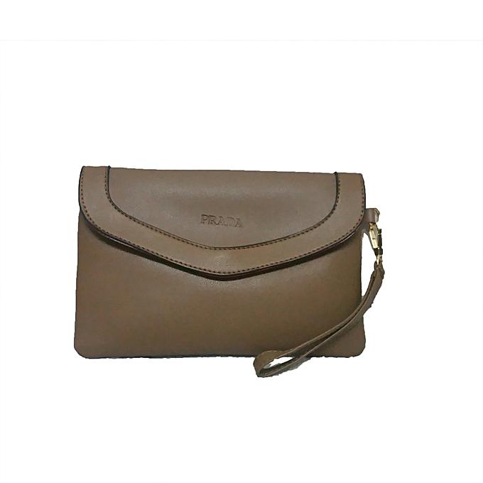 c1d0ec5a8007 Generic Khaki Brown 3 In 1 Genuine Leather Handbags   Best Price ...