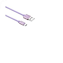 Purple Data Cable