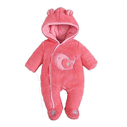 57a33f28cc4 Generic 2018 New pattern baby boy clothes winter long sleeve toddler infant  jumpsuit clothing (3-6 months)-pink
