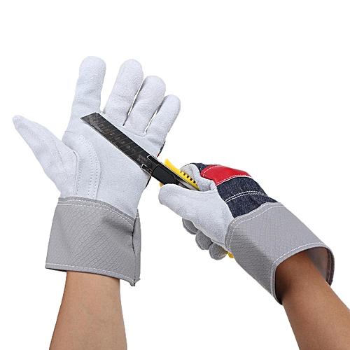 Buy Generic A Grade Industrial Gloves Heavy Duty Cattle Hide Work