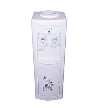 Hot and Cold Free Standing Water Dispenser- White