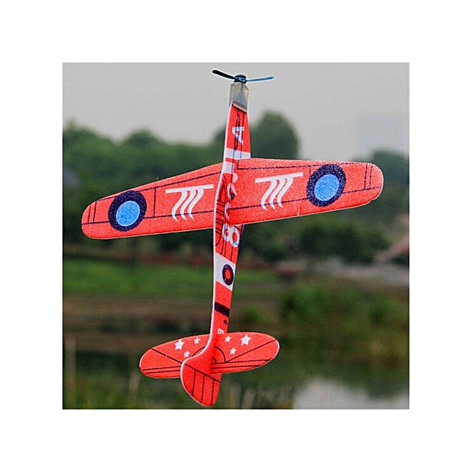 19cm Hand Throw Flying Glider Planes Foam Airplane Party Bag Fillers Kids  Toys