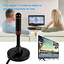 TV Antenna Indoor Digital TV DVB-T HDTV Antenna 20dBi High Gain with Base Aerial Amplifier