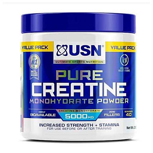 Micronized Creatine Monohydrate 100g + 100g - 40 Servings.
