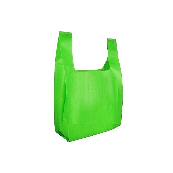 faccdf2e6b Generic 1000 Pcs Of Small Size Grammage Lime Non Woven Shopping Bags ...