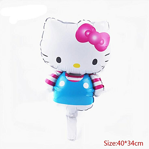 Hello Kitty theme party set children birthday decorations kids party  supplies Disposable tableware banner set baby shower girl(B0222)