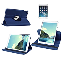 2 in 1 iPad 2/3/4 Cover Case Plus Screen Protector 360 Degree Rotating PU Leather Stand Smart Case Cover with Automatic Wake/Sleep Feature for iPad 2/3/4 (Blue) HSL-G
