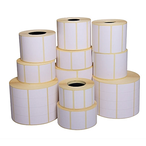 Thermal Printing Label sticker rolls for barcode printing, label scales,  identifications
