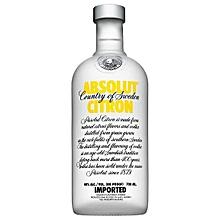 Citron Lemon Flavoured Vodka - 750ml