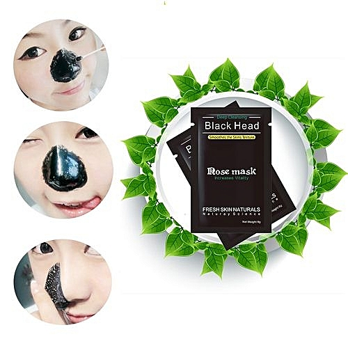 1PC Lackhead Remover Black Mud Deep Cleansing Purifying Peel Acne Face Mask