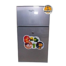 BCD-118 Fridge - 4Cu.Ft - 118 Litres - Silver