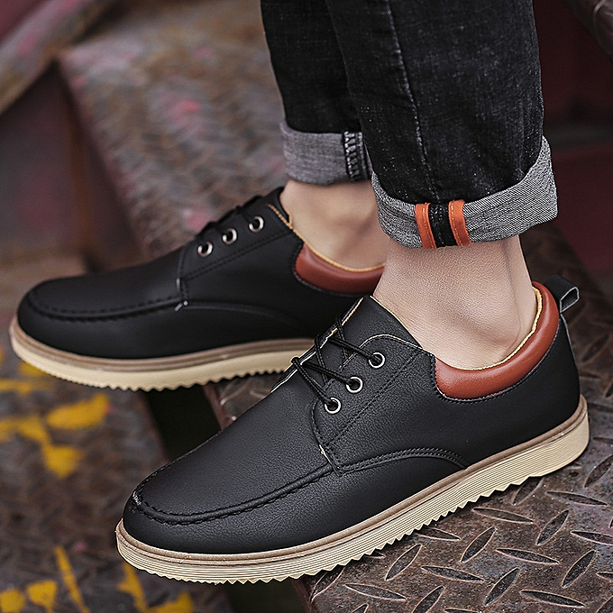 748b798a8d88 Chef Shoes Men s Anti-skid Waterproof Anti-oil kitchen Special Casual  Leather Work-