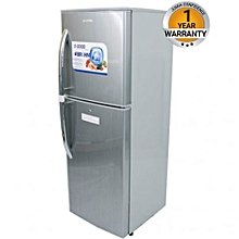 BRD185 - Double Door Refrigerator - 6.5Cu.Ft - 184 Litres - Silver