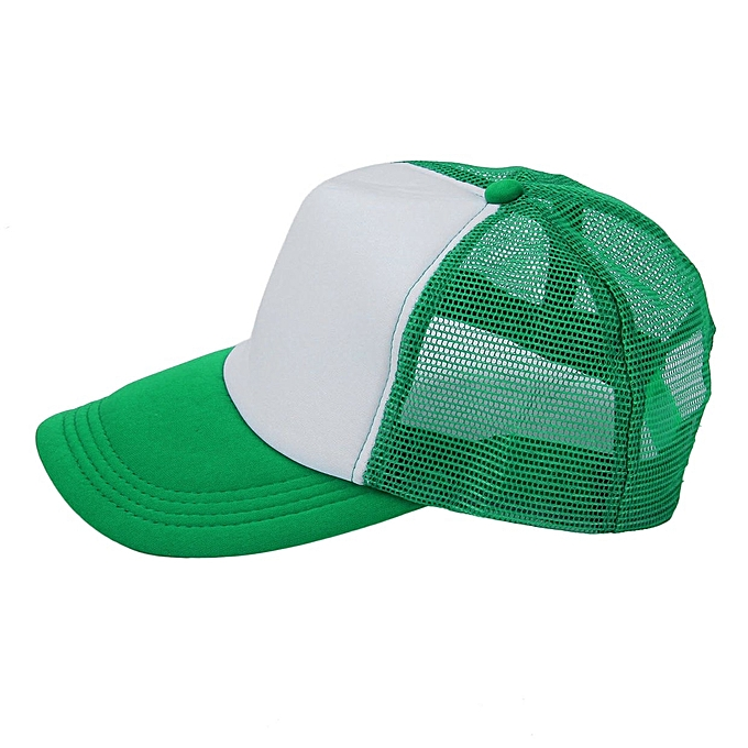 Summer Men Women Fashion Cap Trucker Mesh Hat Baseball Outdoor Sunshade ac42bcbda