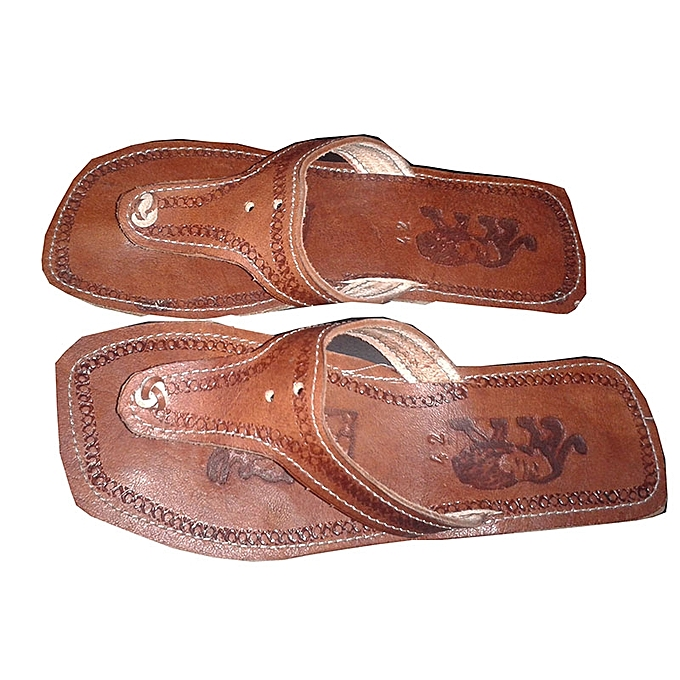Generic Male Brown leather sandals   Best Price  ba6b06bf9dfe