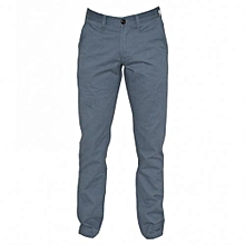 Blue Grey Mens Pants