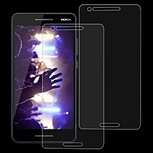 2 PCS 9H 2.5D Tempered Glass Film for Nokia 2.1