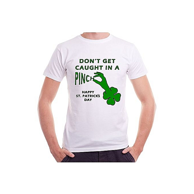 c8ea41f9 St. Patricks Day Unisex T-Shirts Pinch For Women Men Funny Lucky Irish Party
