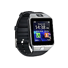 Smart Gear DZ09 Smart Watch Phone for Android and Apple - Silver Black