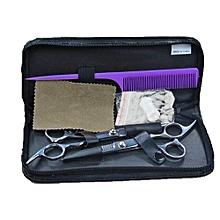 Hair Scissors Grooming Hair Scissors Suit Hair Care Sets Black