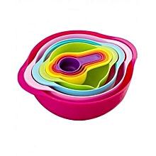8-in-1 Multifunctional Bowl Set - Multicolor