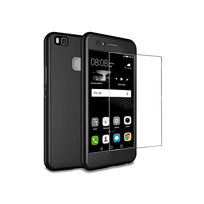 Huawei P9 Lite Case , Mooncase 360° Full Protection Matte PC Hard Hybrid Ultra Thin