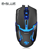E-3LUE M618 Wired Gaming Mouse with LED Light 4000DPI BDZ