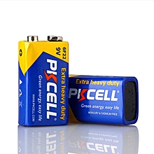 9V batteries heavy duty  Dry Power Carbon Zinc Battery 6F22