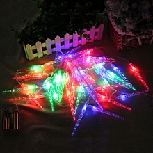 20 LED Window Curtain Lights String Lamp House Party Decor Striking