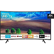 UA49NU7300K- 49''  - UHD 4K Curved Smart LED TV - HDR - Black